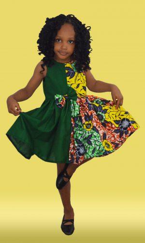 Mimi Ankara Dress