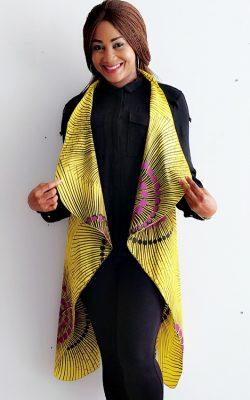 Nana kimono top - yellow