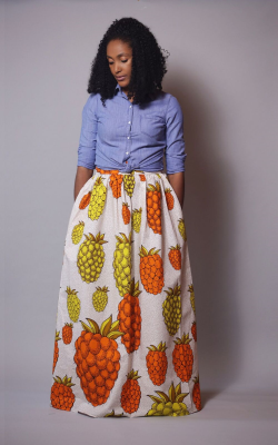 maxi skirts - p