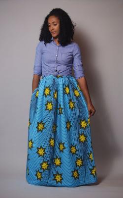 maxi skirts - s