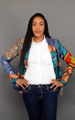 CHISOM AFRICAN PRINT JACKET